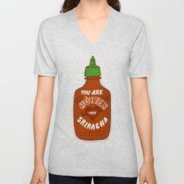 Sriracha Valentine Unisex V-Neck