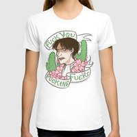 snk T-shirts featuring Fuck You Fucking Fucks by IdentityPollution