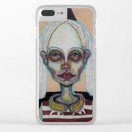 singular Clear iPhone Case