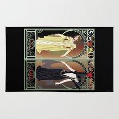 Legend Nouveau - Mirrored Rug
