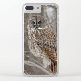 Patience is my strongest virtue Clear iPhone Case