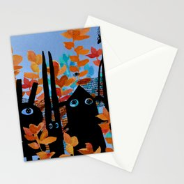 forest gang at night Stationery Cards