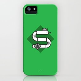 Slytherin House Crest iPhone Case