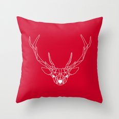 Deer III Throw Pillow