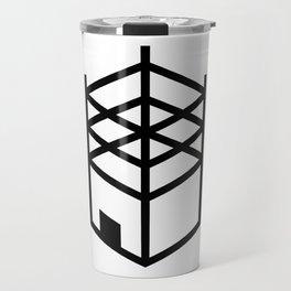 Building in Construction Travel Mug