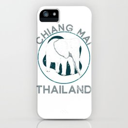 Chiang Mai Thailand iPhone Case