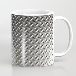 Dirty checkered steel plate Coffee Mug