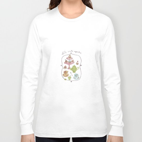 Let´s make cupcakes Long Sleeve T-shirt