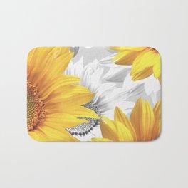 Sunflower Bouquet #decor #society6 #buyart Bath Mat