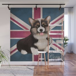 Royal Corgi Baby Wall Mural