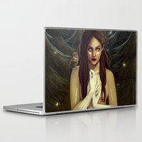 be brave Laptop & iPad Skins featuring Brave by fridouw