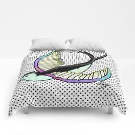 Black swallow odl school Comforters