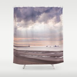 Dunkirk the move in the making Shower Curtain