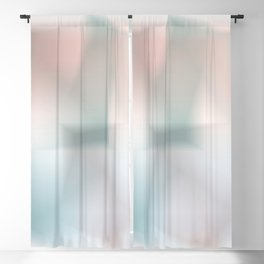 Blurred Colors Blackout Curtain