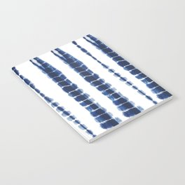 Indigo Blue Tie Dye Delight Notebook