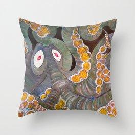 Octricious Throw Pillow