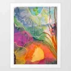 Hi Fishies Art Print