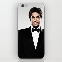 levi iPhone & iPod Skins featuring ZACHARY LEVI by Ylenia Pizzetti