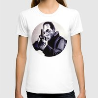 washington T-shirts featuring Peter Washington by Zombie Rust