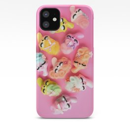 A Bevy of Bouffants iPhone Case