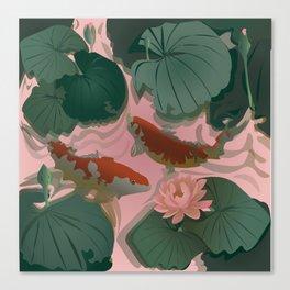 Carp Koi Canvas Print