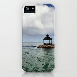 A Rainbow in Paradise iPhone Case