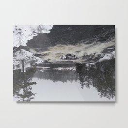 Raging Waterfall Metal Print