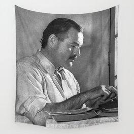 Ernest Hemingway Wall Tapestry