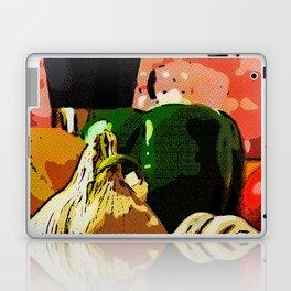 Comic Book Garlic Laptop & iPad Skin