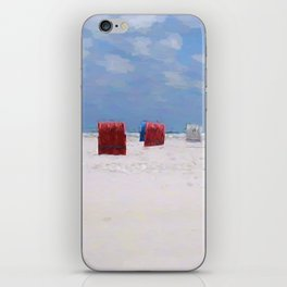 The storm has gone iPhone Skin