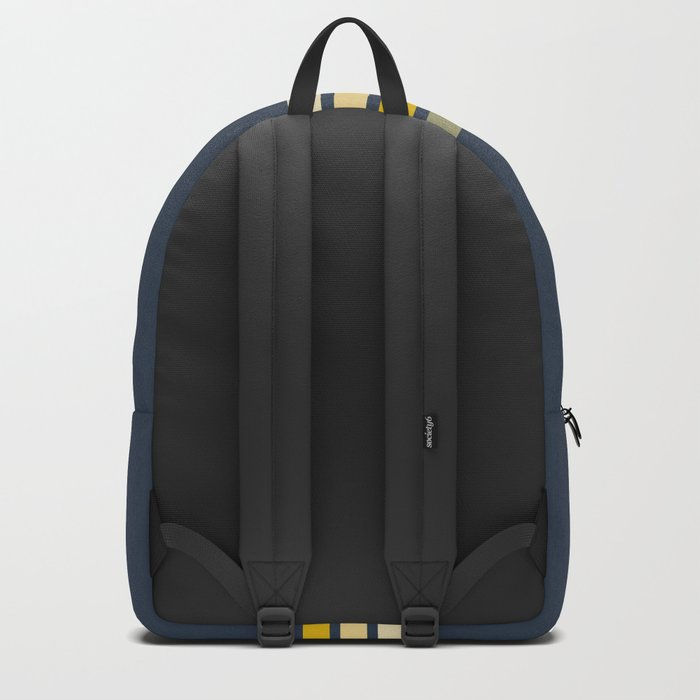 Racing Retro Stripes Rucksack