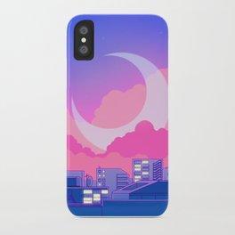 Dreamy Moon Nights iPhone Case