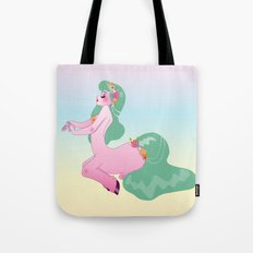 Pretty Little Pink Centaur Tote Bag