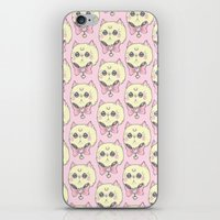 meow iPhone & iPod Skins featuring Meow by lOll3