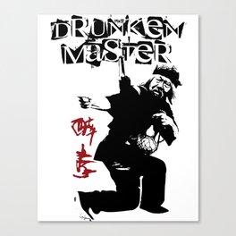 Old Drunken Master Canvas Print