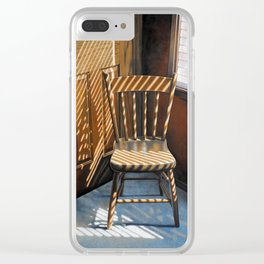 Chair In Light Clear iPhone Case
