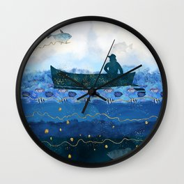 The Fisherman's Dream #2 Wall Clock