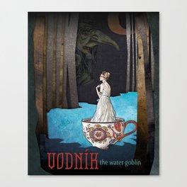 Vodník the Water Goblin Canvas Print
