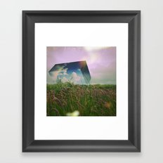 above it  Framed Art Print