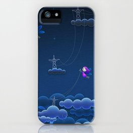 Super Adorable Mystic Little Fairies Responsible For Thunder iPhone Case