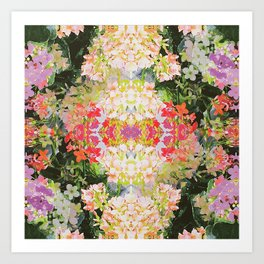 Tropical Kaleidoscope Art Print