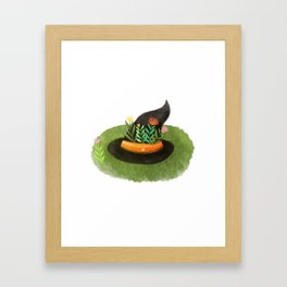 Witch Hat Framed Art Print