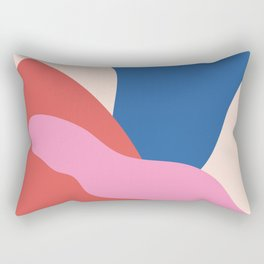 Big Shapes / Chewing Gum Rectangular Pillow