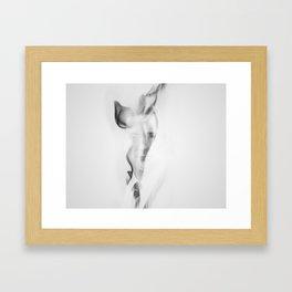 Smoking Hamm Framed Art Print