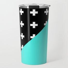 Memphis pattern 78 Travel Mug
