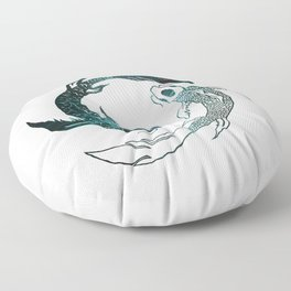 Balance in the Universe Floor Pillow