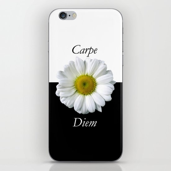 Yin Yang Carpe Diem iPhone & iPod Skin