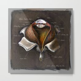 Fruit of Life series - Eye, by Chok Bun Lam Metal Print