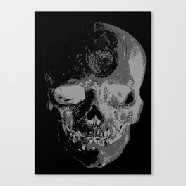 skullX Canvas Print