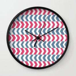 ArrowStripes Wall Clock
